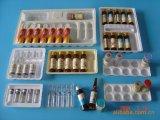 Plateau en plastique Heathy fait sur commande d'emballage d'ampoule d'usine pour la médecine, cadre liquide oral
