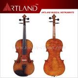 Корабль античной скрипки Handmade от твердой древесины (AVA100)