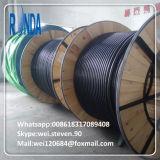 cabo distribuidor de corrente subterrâneo de fio de aço de 1.8KV 3.6KV 6KV 8.7KV 15KV