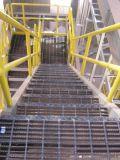 Гальванизированная проступь лестницы скрежеща для стального трапа