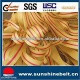 China Fábrica de alta calidad de tela de algodón de tela cinturón de transmisión plana