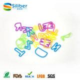 Elastico del giocattolo dei braccialetti dell'elastico del silicone di DIY per le ragazze