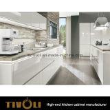 Armadio da cucina domestico di legno della mobilia di progetto su ordinazione (AP122)