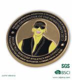 Monete di oro su ordinazione del ricordo del metallo con il proprio marchio