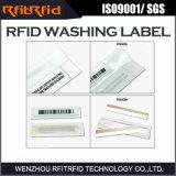 Etiqueta de la ropa RFID de la frecuencia ultraelevada para la gestión de activos