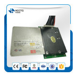Módulo elegante del programa de escritura del lector de tarjetas del quiosco RFID de la tarjeta magnética del OEM del USB RS232 (HCC-T10-DC3)