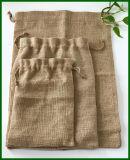 Jutefaserdrawstring-Leinwand-Nuts Beutel für Verpackung 2.5kg