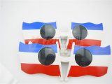 Óculos de sol do partido e da novidade das bandeiras (GGM-240)