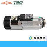 Alta velocidad eléctrica del motor del husillo refrigerado por aire 8kw Atc del eje para un grabado de madera con la herramienta del sostenedor Bt30 / ISO30 Igual que el huso de HSD
