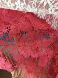 Tissu en gros de lacet de la Chine de 2017 nouveaux produits pour la robe de femmes