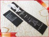 Mittlere Falte druckte Kennsatz-Kleid gedruckten Satin-Kennsatz