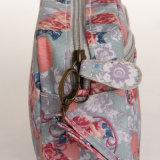 Retro wasserdichte Blumen-Belüftung-Segeltuch-Form-Dame Bag (600)
