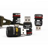 Regalo modificado para requisitos particulares mecanismo impulsor del mecanismo impulsor del flash del USB de la pluma del PVC
