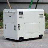 Generatore diesel raffreddato ad aria portatile silenzioso di tempo di lunga durata di inizio di tasto di prezzi di fabbrica del bisonte (Cina) BS6500dse 5kw 5kVA 5000W