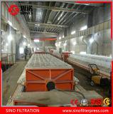 Filtre-presse industriel de membrane pour la boue de dessalement d'eau de mer