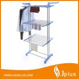 Haute qualité en acier inoxydable en acier inoxydable 3 couches en pliage de vêtements pour séchage Jp-Cr300wms