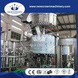 Alta calidad Monoblock 3 de China en 1 máquina de rellenar rotatoria del jugo (botella de cristal con el casquillo de aluminio)
