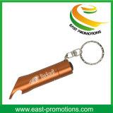 Apri di bottiglia della torcia elettrica delle lampadine della lega di alluminio 3 LED Keychain