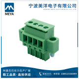 똑바른 PCB 플러그 끝 구획 3.5mm 3.81 5.0mm 5.08mm 피치 여성 플러그 연결관