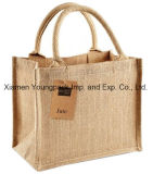 Atacado Bulk Custom Printed Large Eco Friendly Reusable Tote Jute Bags