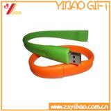 Il calore Nonperishable resiste al USB promozionale del Wristband del silicone