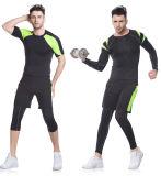 Sportswear Running personalizado da ginástica da compressão da aptidão da forma da cor