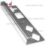 Garniture de carrelage en acier inox standard standard en acier inoxydable