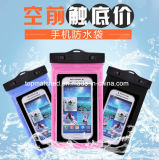 PVC Téléphone portable 20 mètres étanche Bag Fishing Swimming Outdoor Waterproof Phone Bag
