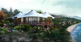 ホテルの屋外のイベントのテントは玄関ひさしのおおいのテント17を使用した