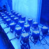 LEIDEN van de Verlichting van de Disco DMX van de Apparatuur 54X3w RGBW DJ van het stadium PARI