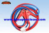 Portable 2.5m Brass Booster Cable pour charge automatique (CE approuvé)