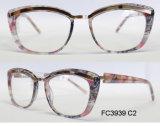 Рамка ацетата хорошего качества оптически для повелительницы с металлом (Ce) Eyewear