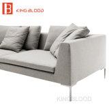 A cor branca moderna italiana Sala Salão Design Sofá transversal da cama Exact