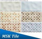 75X150mm Regentropfen-keramische Dekoration glasig-glänzende Fliese