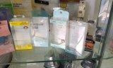 Caisse d'emballage en plastique faite sur commande d'impression pour des feuilletés de poudre et des feuilletés d'éponge