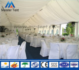 Grande tente blanche de noce de bâti en acier de 200 personnes en Afrique du Sud