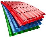 Feuille de haute qualité en tôle ondulée en couleur