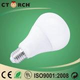 Ctorch 고품질 12W Plastic+Aluminum 버섯 전구