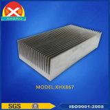 習慣は証明されたISO9001のアルミニウム脱熱器を陽極酸化した