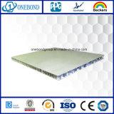 Panneau en aluminium de nid d'abeilles d'enduit de PVDF pour le revêtement de mur
