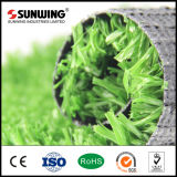 Bestes auserlesenes PET materieller Fliese-Fußball-Gras-Bereich-Teppich für Sport