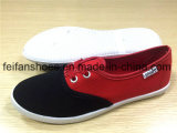女性のスポーツは蹄鉄を打つ偶然のズック靴のカスタマイズされた靴(FFCS1219-04)に