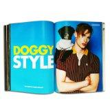 Revista de moda de offset de boa qualidade de boa qualidade