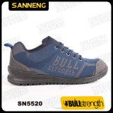 Nuevo zapato de seguridad ocasional de PU/PU Outsole con la punta compuesta (SN5520)