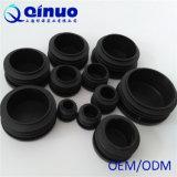 Kundenspezifische schwarze runde Plastikstuhl-Fuss-Deckel mit Qualität
