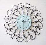 Часы стены метода металла номера Рим электронные