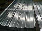 Chapa de acero corrugado Aluzinc/Hoja de techos de zinc aluminio