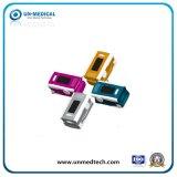 Nouveau moule coloré oxymètre de pouls du bout des doigts avec écran OLED