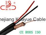 RG6, de Coaxiale Kabel van de Macht van de Kabel Rg/59 +2c/van de Communicatie van de Kabel van de Gegevens van de Kabel van de Computer de AudioKabel Schakelaar van de Kabel