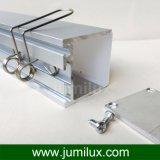Profil en aluminium de DEL avec la couverture transparente de diffuseur